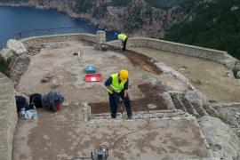 El Consell inicia la restauración del mirador de Formentor
