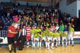 El Palma Futsal sigue en racha y golea al Uruguay Tenerife