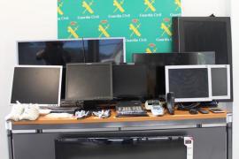 Detenido un joven por robar más de 50 televisores en hoteles de Calvià