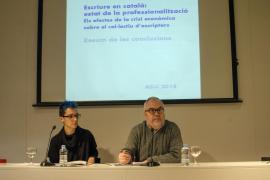 Solo uno de cada diez escritores en catalán logra vivir de esta profesión