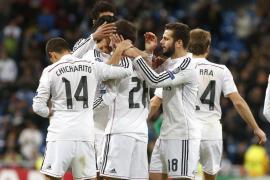 Goleada y récord del Real Madrid