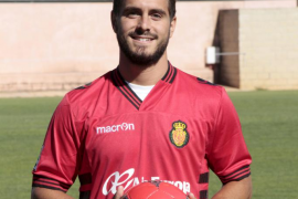 Javier Ros, el centrocampista del Mallorca.