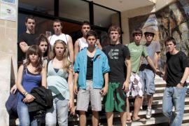 Desvalijan las maletas a 21 estudiantes que acababan de llegar a Cala Major