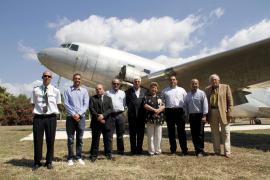 Homenaje a  la aviación en Mallorca