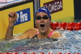 Mireia Belmonte bate el récord del mundo de 1.500 metros libres en piscina corta