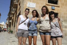 Mallorquines en Sant Joan