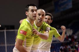 Gran triunfo del Palma Futsal, que se aúpa a la cuarta plaza