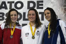 Festival de medallas mallorquinas en el Campeonato de España de natación