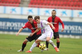 Arana evita la derrota del Mallorca ante el Numancia