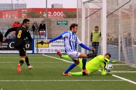 El Atlètic Balears tropieza ante el Zaragoza B