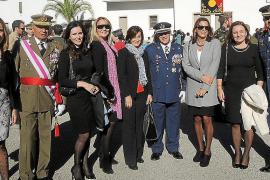 Artillería e Infanteria celebraron sus patronas