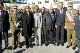Artillería e Infantería celebraron sus patronas en Palma