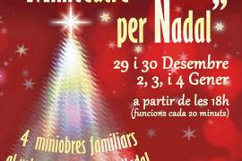 'Miniteatre de Nadal', microteatro con espíritiu navideño