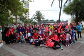 Más de 150 personas participan en la carrera solidaria de Llucmajor