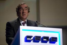 Los problemas internos marcan la reelección de Rosell como presidente de la CEOE