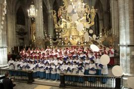 Blavets de Lluc y Vermells de la Seu, juntos en un recital solidario