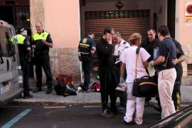 Un hombre de 85 años herido de gravedad por un incendio en Palma