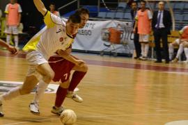 El Palma Futsal se estrella en los palos y cierra el año con una derrota en Santiago