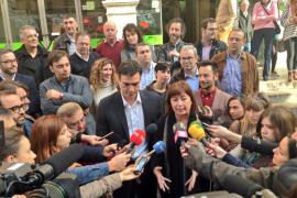 Sánchez afirma que Armengol «coserá y recompondrá» la fractura causada por Bauzá