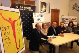 Miquel Barceló crea la imagen del escapulario solidario de Sant Antoni 2015 de es Grif de sa Pobla