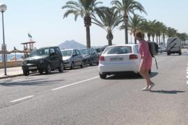 El GOB pide que la semipeatonalización de la primera línea del Port de Pollença no se autorice