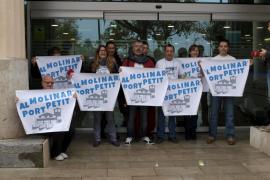 'Al Molinar, port petit', satisfecha por el informe negativo de Cort sobre la ampliación