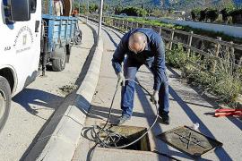 Reponen un kilómetro de cable de cobre robado en Andratx