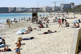Los turistas valoran de forma positiva su estancia en Cala Millor