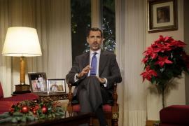 Felipe VI: «Debemos cortar de raíz y sin contemplaciones la corrupción»
