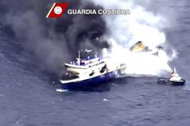 Aumentan a once los muertos en el transbordador incendiado entre Italia y Grecia