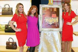 Evento cultural de la  artista Pilar García en  Mulberry Palma