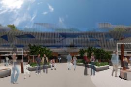 Una empresa andaluza propone un mercado gastronómico en el puerto de Palma