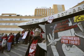 Enfermos de hepatitis C anuncian una cadena humana en La Moncloa