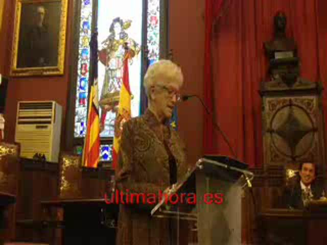 Jacqueline Waldren protagoniza el pregón de la Festa de l'Estendard