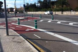 Conectado el Camí Vell de Bunyola y el centro de Palma con un nuevo carril bici