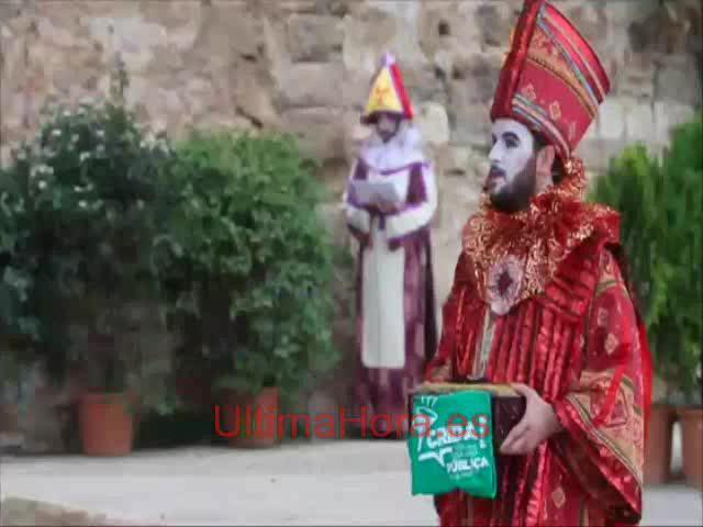 Podemos y los 'selfies', protagonistas de la Adoració del Tres Reis d'Orient