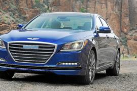 El Hyundai Genesis, finalista para Coche del Año de Norteamérica 2015