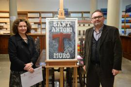 Muro presenta el cartel deSant Antoni 2015