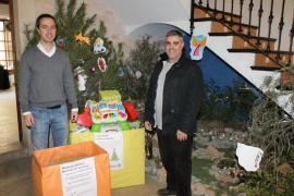 El Ajuntament de Santanyí recoge 750 kilos de alimentos y más de 400 juguetes