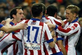El Atlético pone contra las cuerdas al Real Madrid en la Copa del Rey