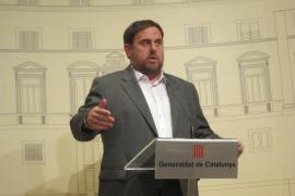 Junqueras insta a Artur Mas a dibujar ya un gobierno de concentración
