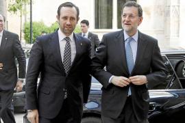Bauzá reclamará a Rajoy el dinero pendiente de inversiones estatutarias