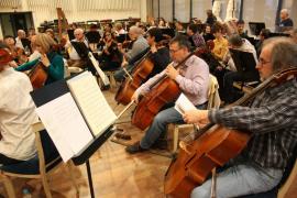 La Simfònica se 'examina' en el Teatro Real