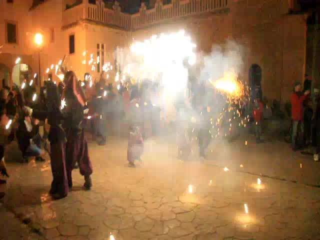 Fuego en Sant Bernat
