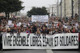 Una gran manifestación recorrerá hoy París en contra del terrorismo