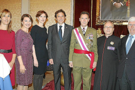 Celebración de la Pascua Militar en l'Almudaina
