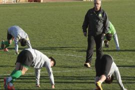 El equipo chino de Manzano entrena en Son Bibiloni
