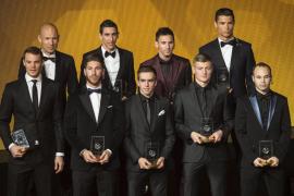 Ramos e Iniesta entran en el Once Mundial de la FIFA