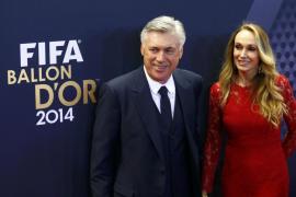 Carlo Ancelotti y Mariann Barrena McClay