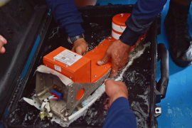 Recuperada la segunda caja negra del avión de AirAsia